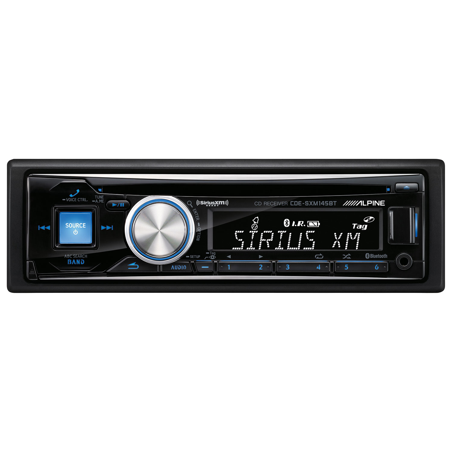 Alpine - Radio d'auto CD Bluetooth CDE145BT