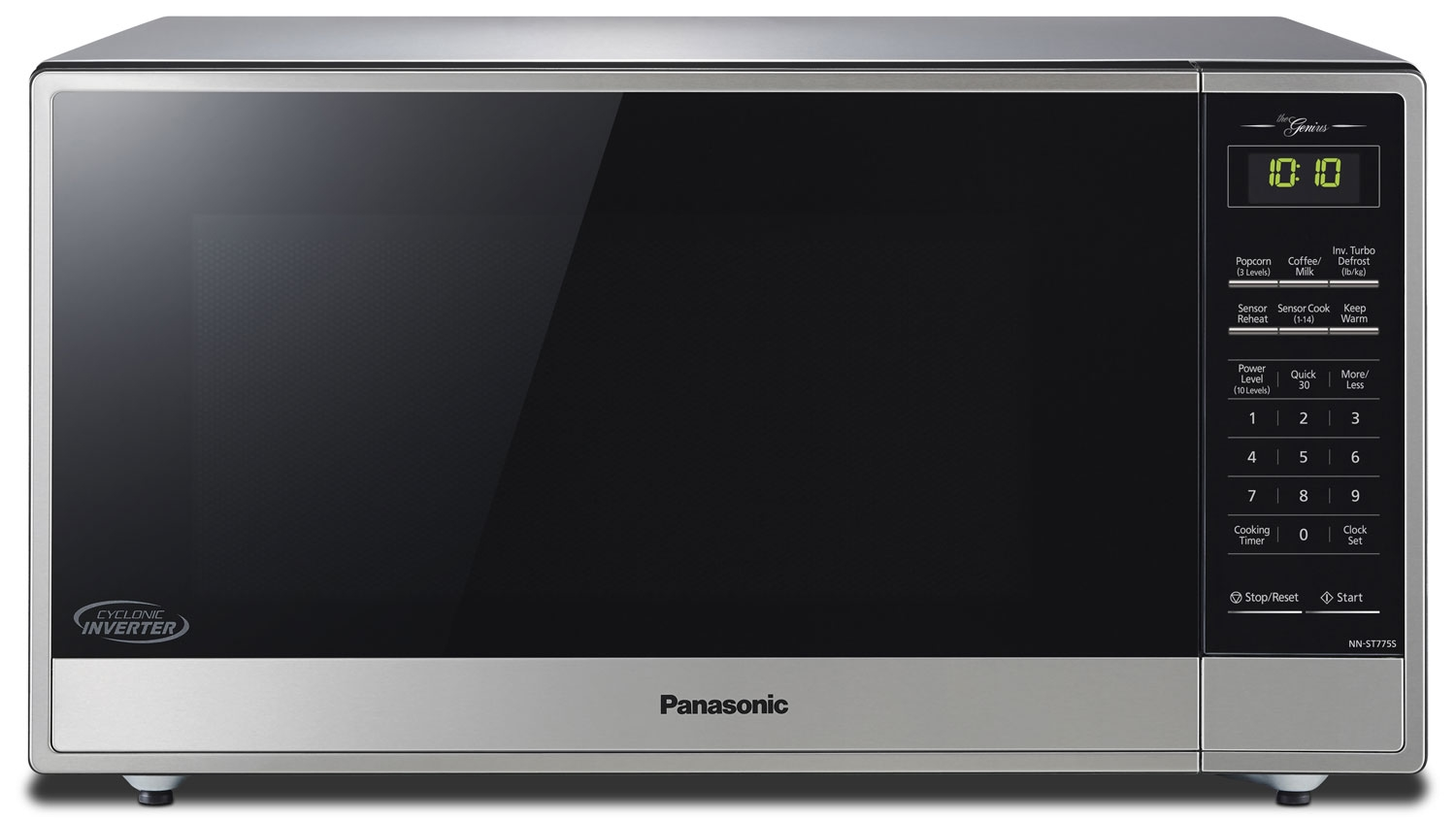 Panasonic - Four micro-ondes avec technologie Inverter cyclonique NNST775S