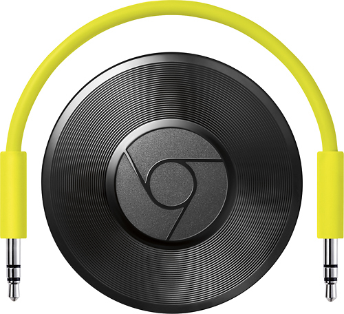 Google - Lecteur multimédia audio CHROMECASTAUDIO