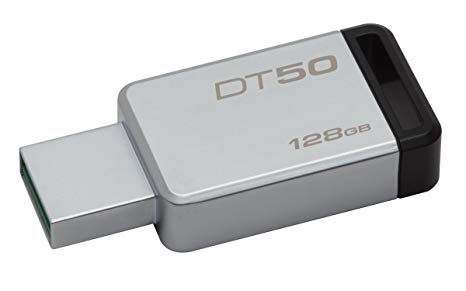 Kingston - Clé UBS de 128GB DT50 DT100G3/128G