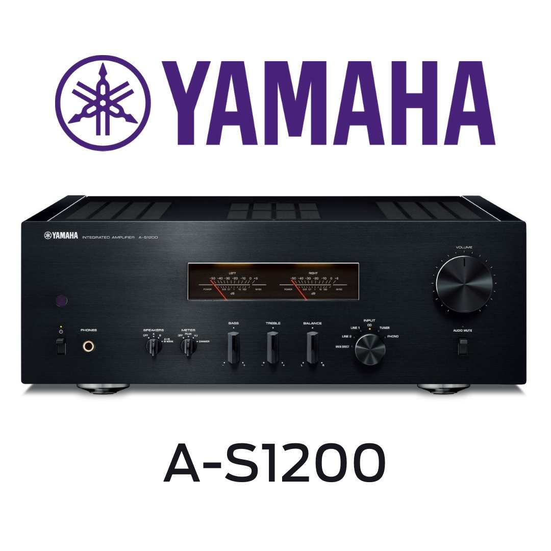Yamaha - Amplificateur stéréo 105W/canal AS1200