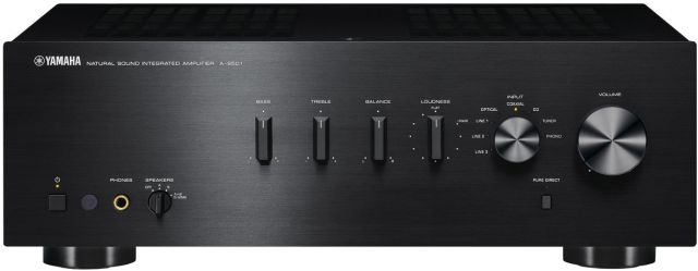 Yamaha - Amplificateur Stéréo 120W/Canal AS501