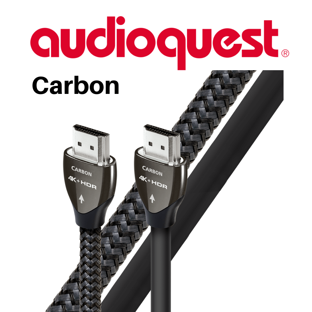 AudioQuest - Câble HDMI Carbon 2m (6,7') HDMCAR01