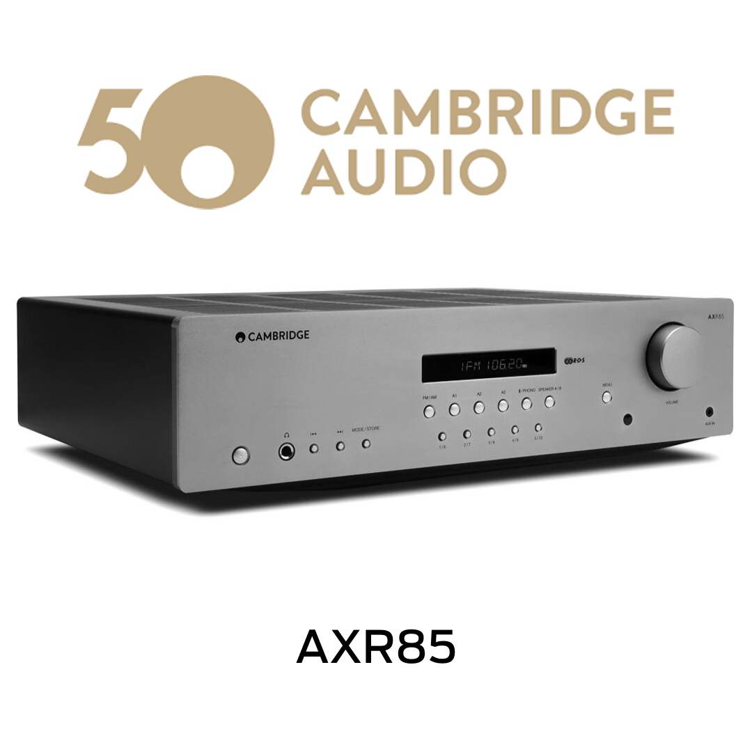 Cambridge Audio - Récepteur stéréo AM/FM 85W/Canal AXR85