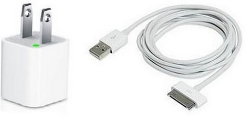 Chargeur Iphone 4s/4/3Gs/3G/iPad/iPod CHIH04