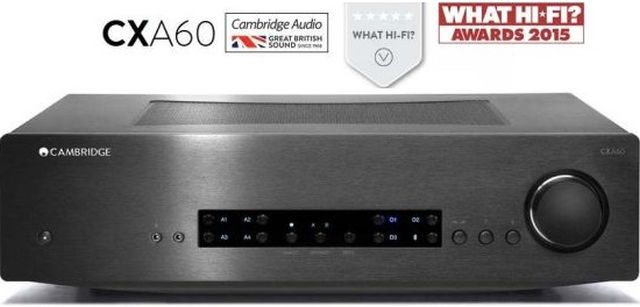 Cambridge Audio - Amplificateur stéréo 60W/Canal CXA60