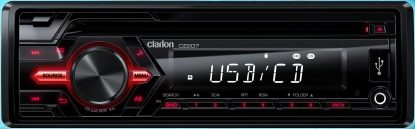 Clarion - Lecteur CD Simple DIN CZ207