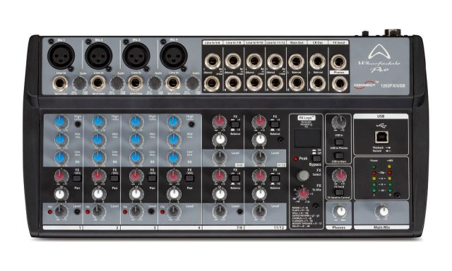 Wharfedale - Console de mixage Connect 1202FX/USB Connect1202FXUSB