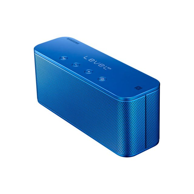 Samsung - Level Box Mini Bleu Haut-parleur Bluetooth