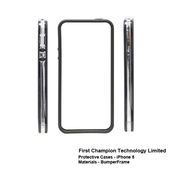 First Champion - Étuis protectrice pour Iphone 5 FCPCiP5BF