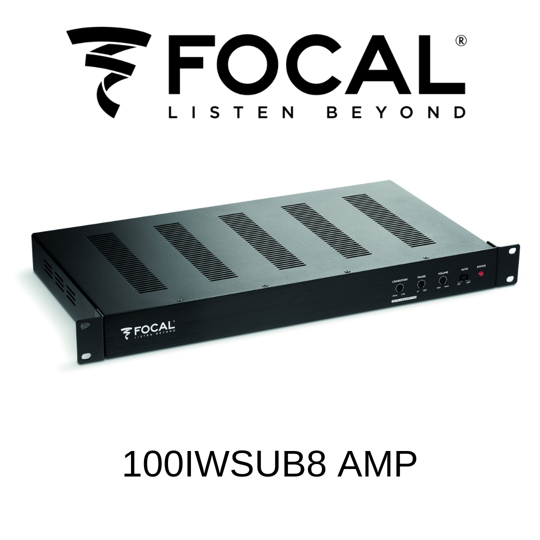 Focal 100IWSUB8AMP - Amplificateur de basses