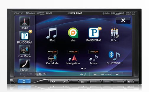 ALPINE - Radio Double DIN ICSX7HD