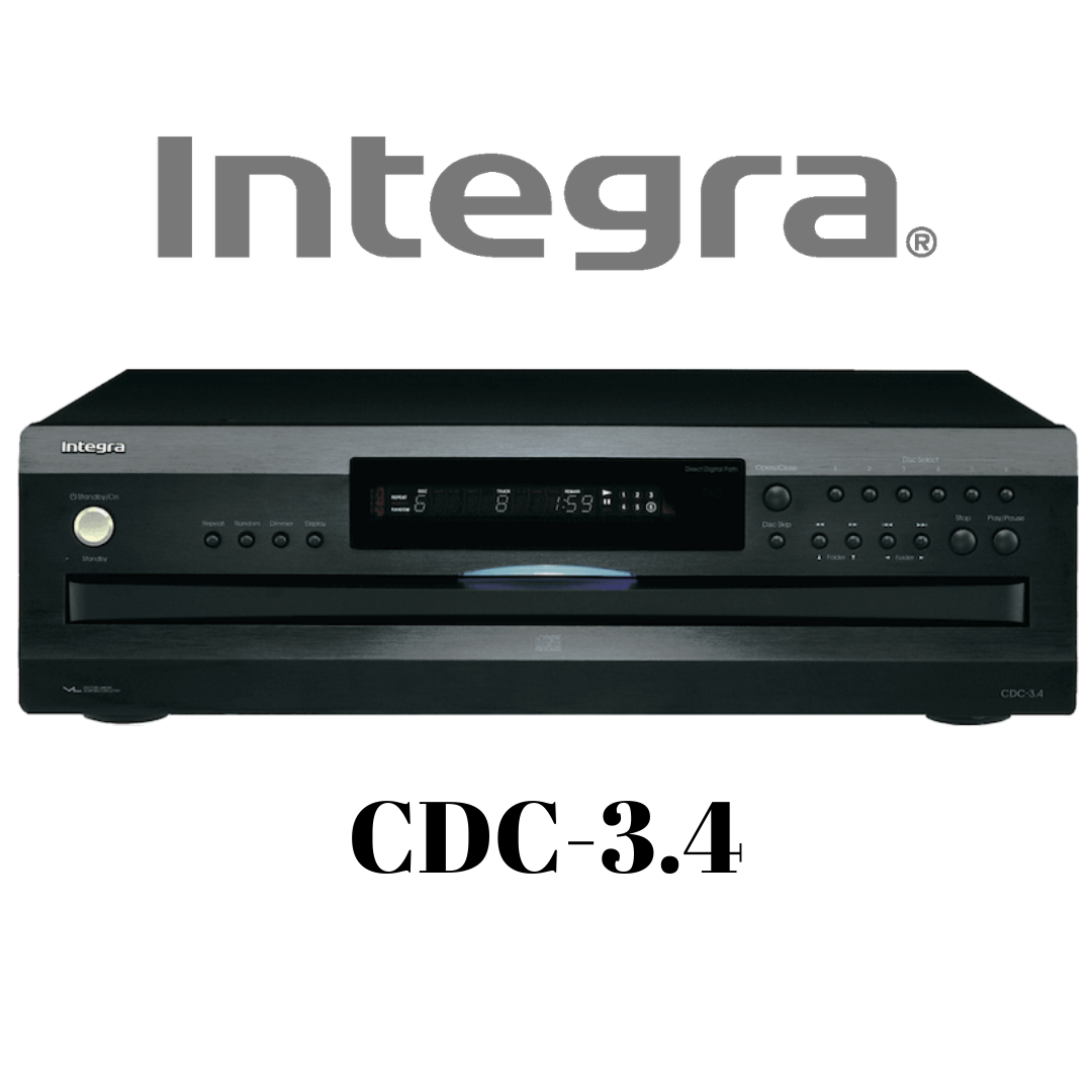 Integra - Carrousel CD à 6 disques CDC3.4