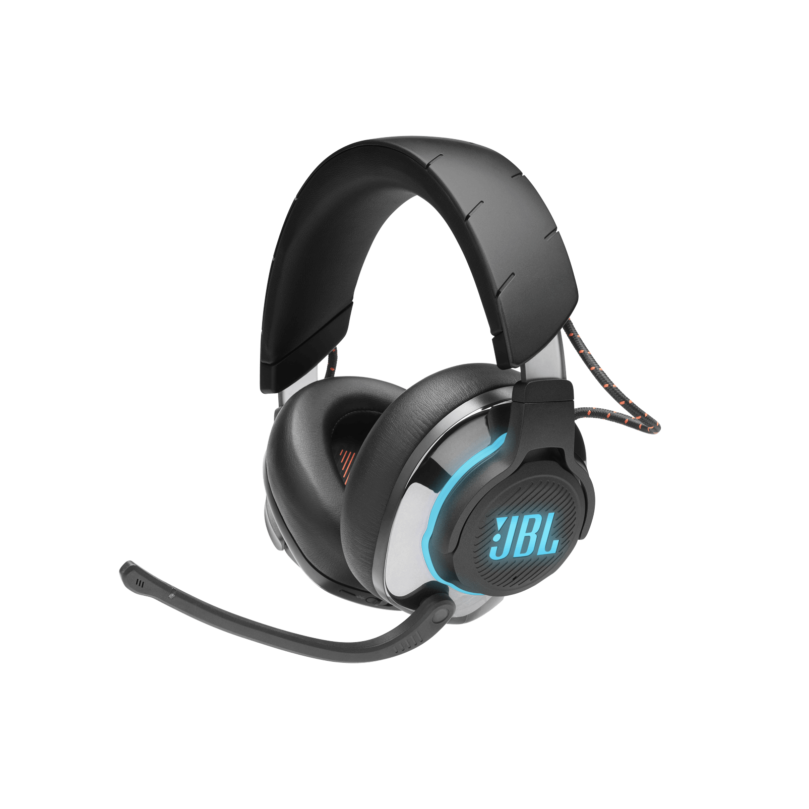 JBL - Casque de jeu circum-aural haute performance à réduction de bruit active et Bluetooth 5.0 - JBLQUANTUM800BLKAM