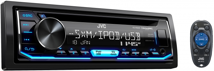 Radio Simple Din JVC avec CD - KD-R690S