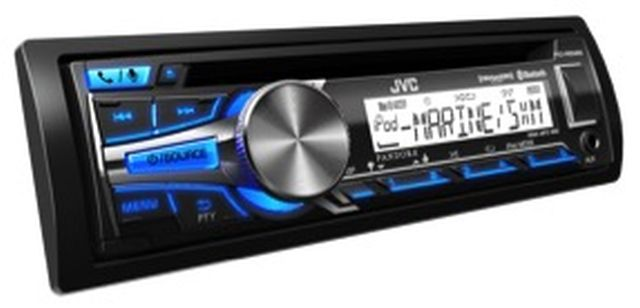 JVC - Radio Simple Din Bluetooth Marine KDR85MBS