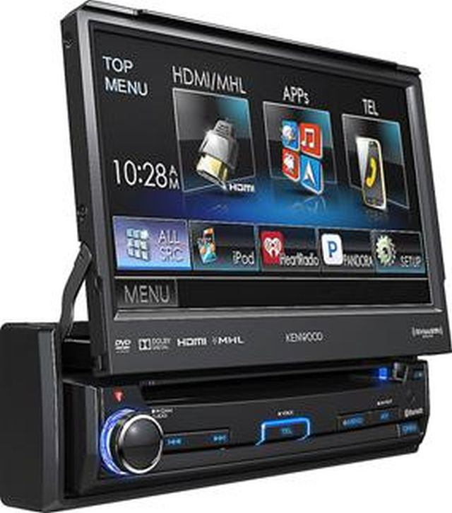 Kenwood - Radio Simple Din Bluetooth KVT7012BT