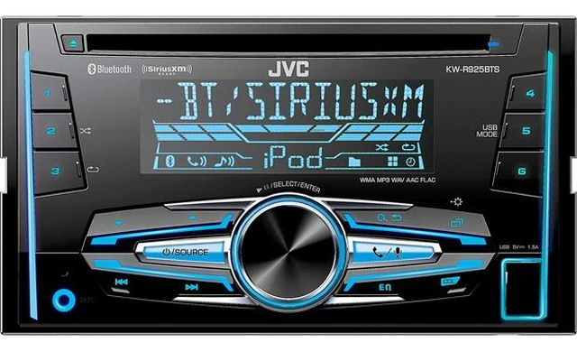 JVC - Radio d'auto double DIN Bluetooth KWR925BTS