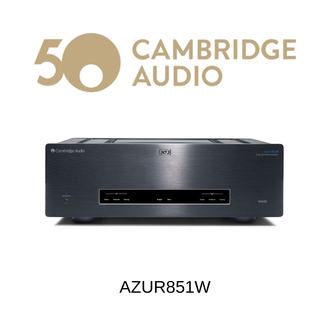 Cambridge Audio Azur851W - Amplificateur de puissance 200W/c