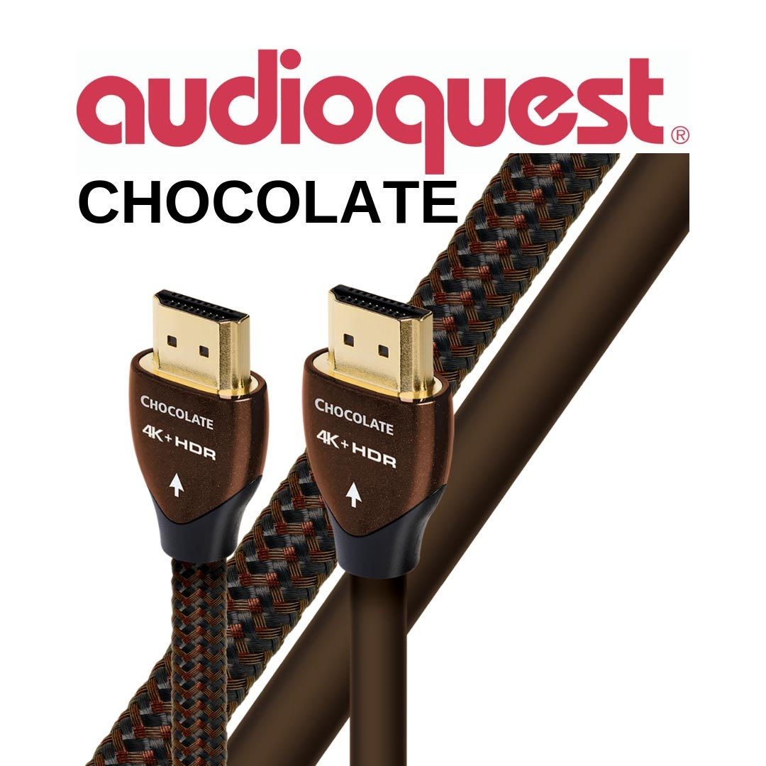 AudioQuest - Câble HDMI Chocolate 1m (3,4') HDMICHOC01
