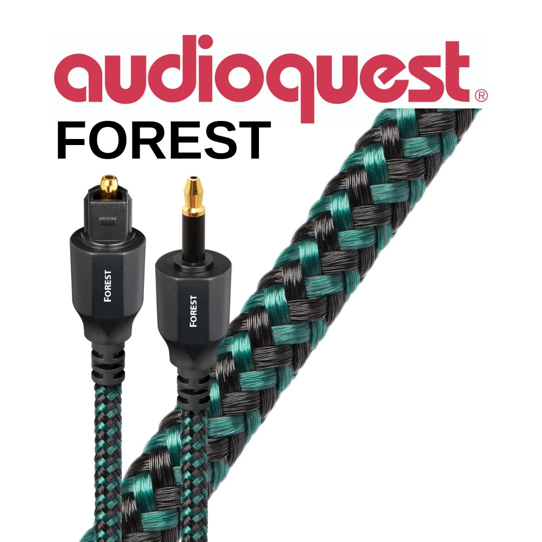 AudioQuest - Câble optique digital Forest 1,5m (5')  OPTFOR1.5