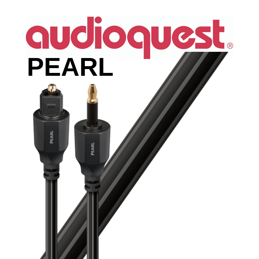 AudioQuest - Câble optique digital Pearl 1,5m (5')  OPTPEA1.5