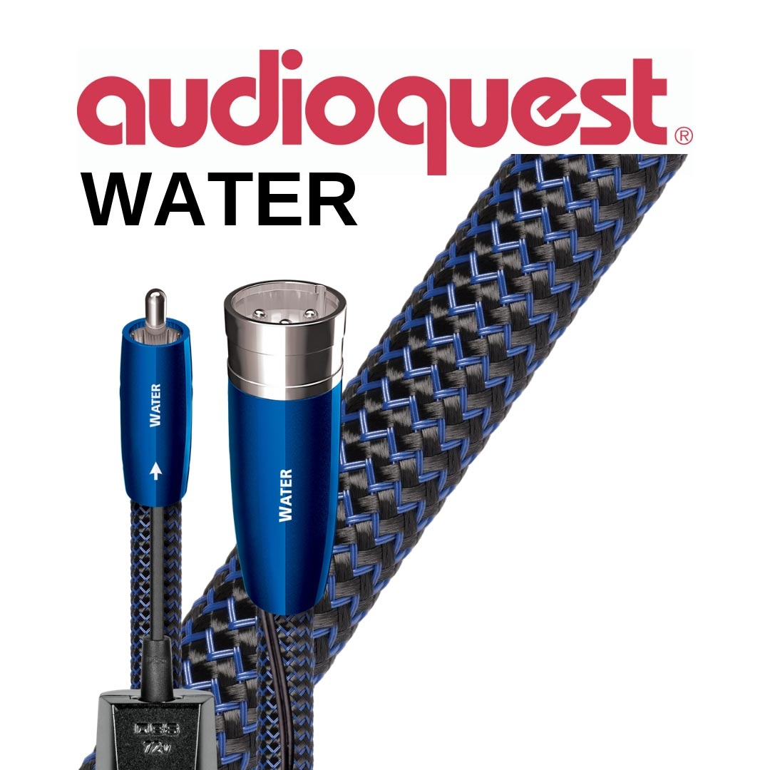Audioquest - Câbles d'interconnexion audio-analogues Water 1M