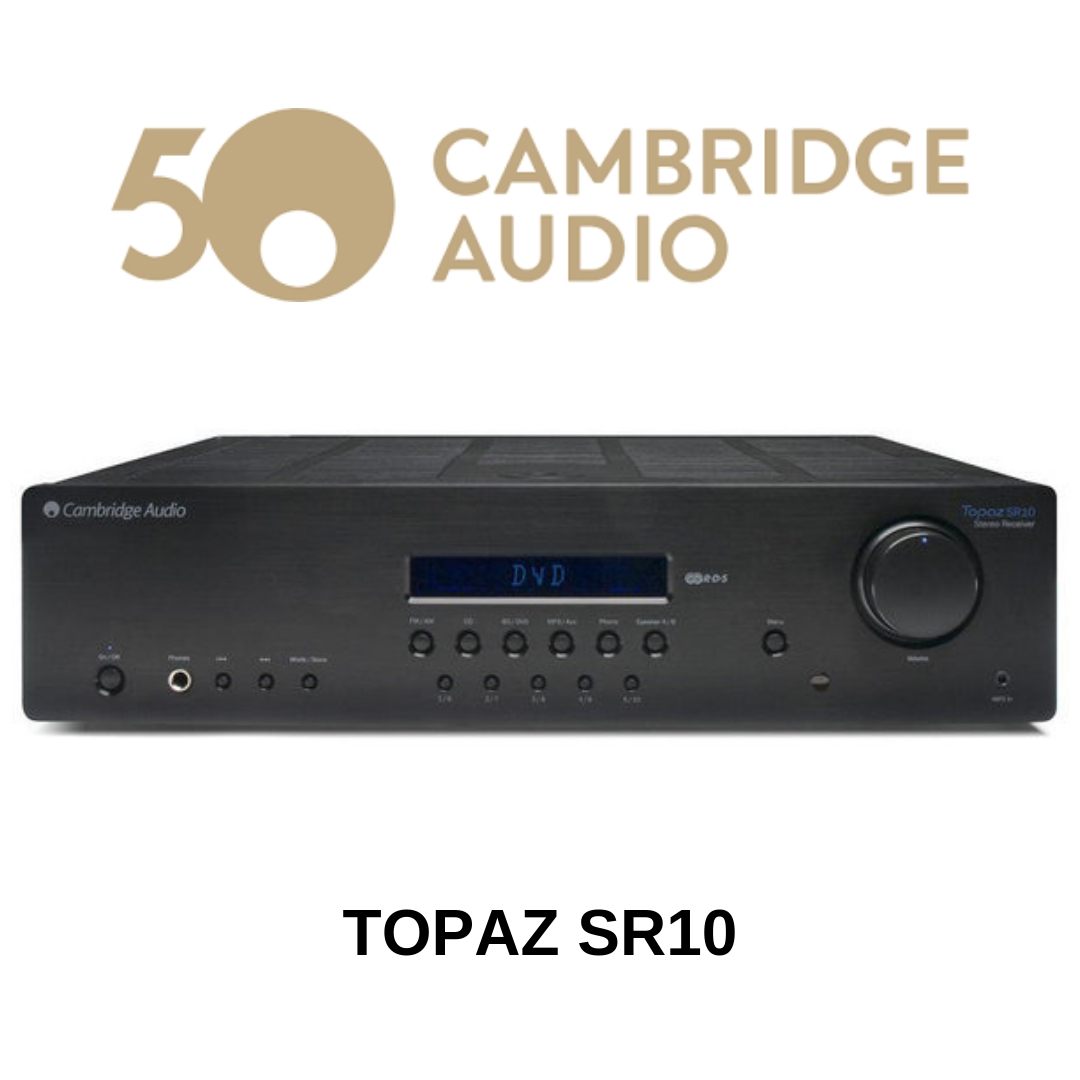 Cambridge Audio - Récepteur stéréo AM/FM Topaz SR10