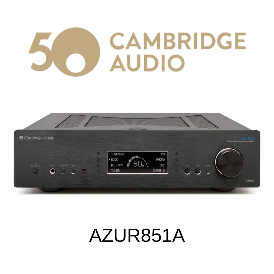 Cambridge Audio Azur851A - Amplificateur stéréo 120W/c