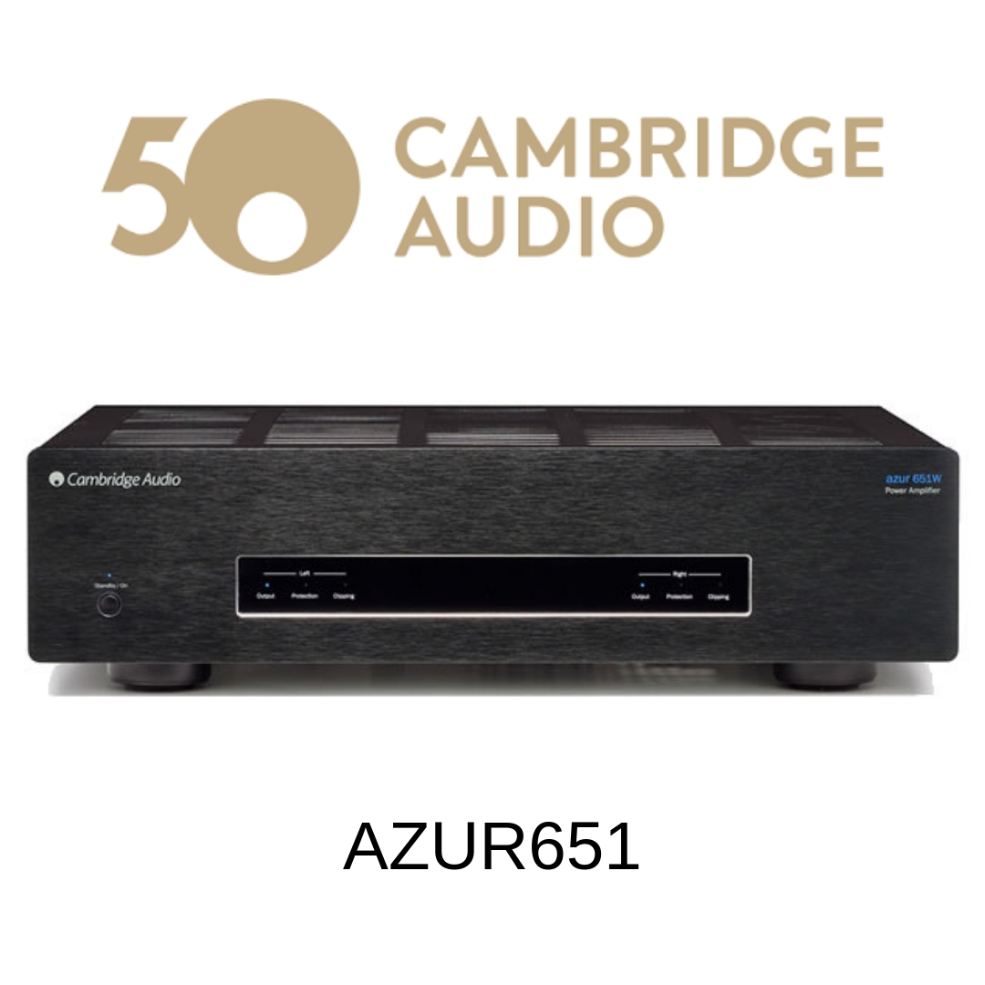 Cambridge Audio Azur651W - Amplificateur stéréo 100W/c