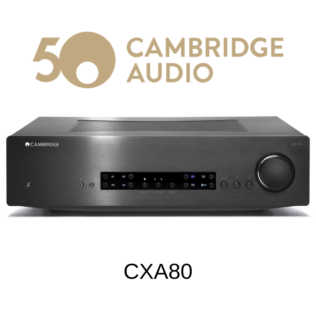 Cambridge Audio CXA80 - Amplificateur stéréo 80W/c