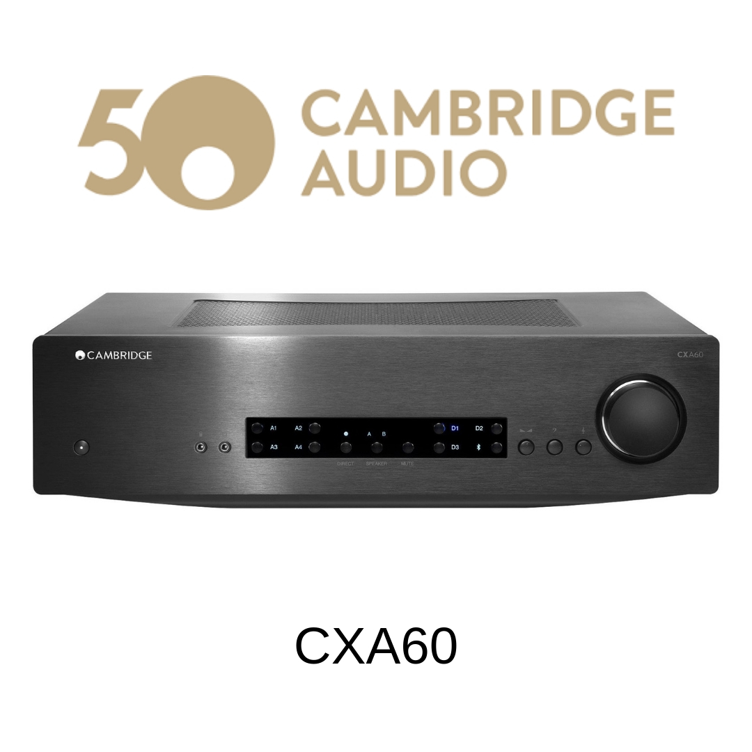 Cambridge Audio CXA60 - Amplificateur stéréo 60W/c