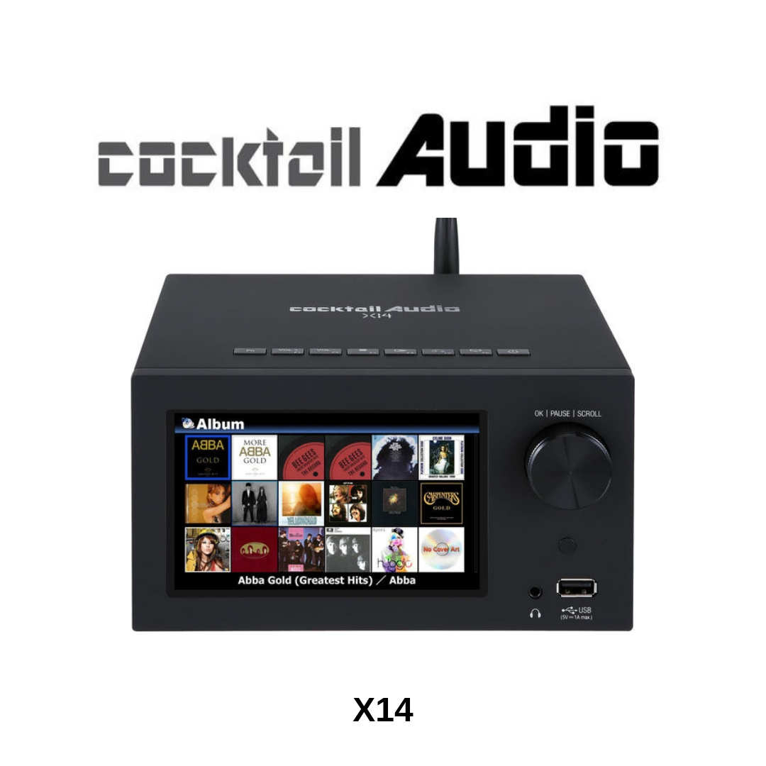 Cocktail Audio COCKAUDX14NR - Amplificateur réseau X14