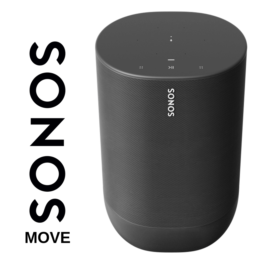 Sonos - Enceinte Wi-Fi/Bluetooth Portable Move