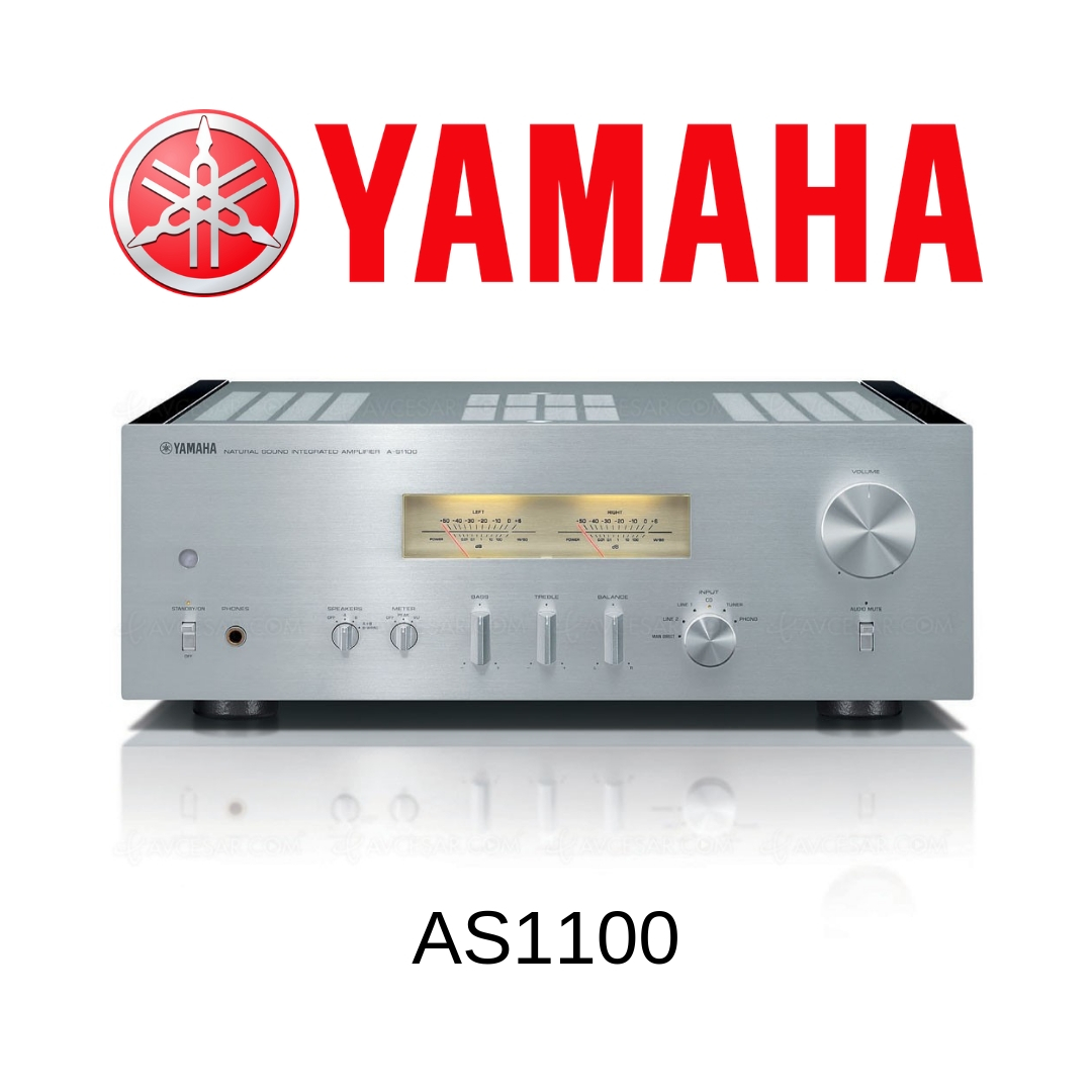 Yamaha AS1100 - Amplificateur stéréo 160W/c