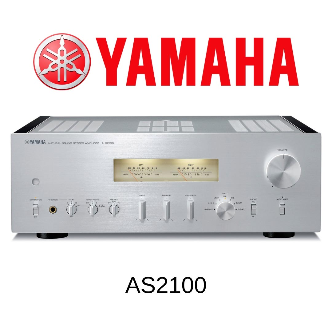 Yamaha AS2100 - Amplificateur stéréo 160W/c