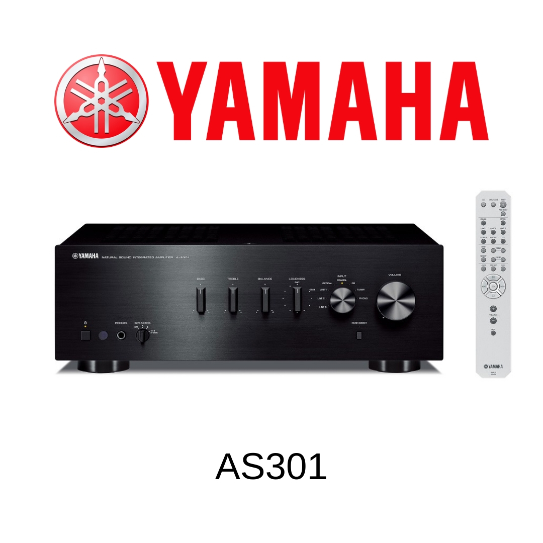 Yamaha AS301 - Amplificateur stéréo 60W/c