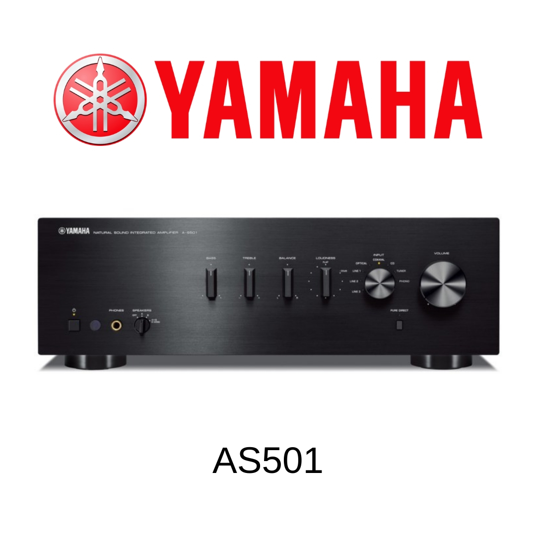 Yamaha AS501 - Amplificateur stéréo 85W/c