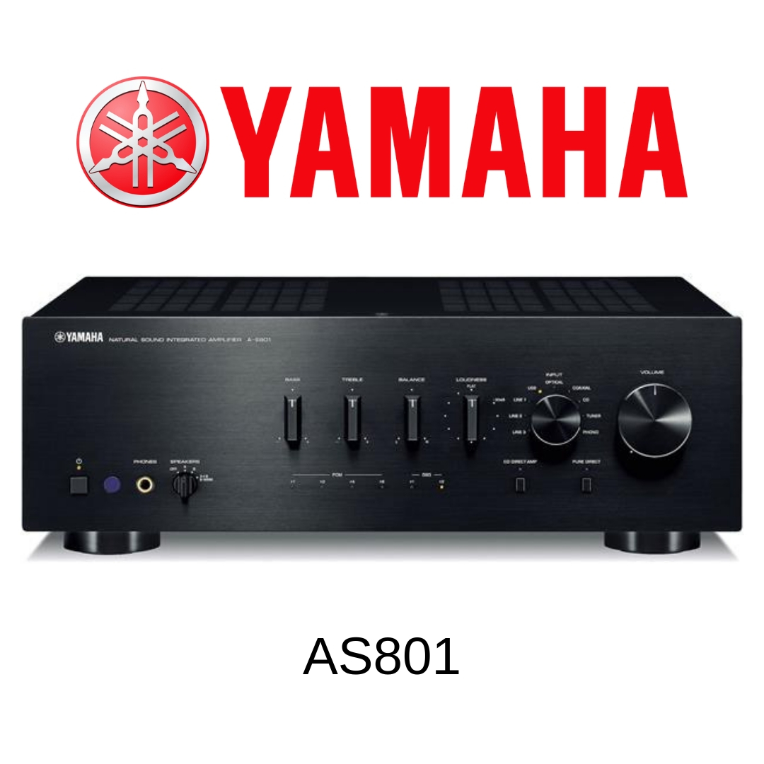 Yamaha AS801 - Amplificateur stéréo 100W/c