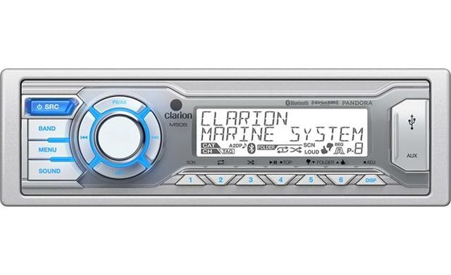 Clarion - Radio Marine Simple DIN Bluetooth
