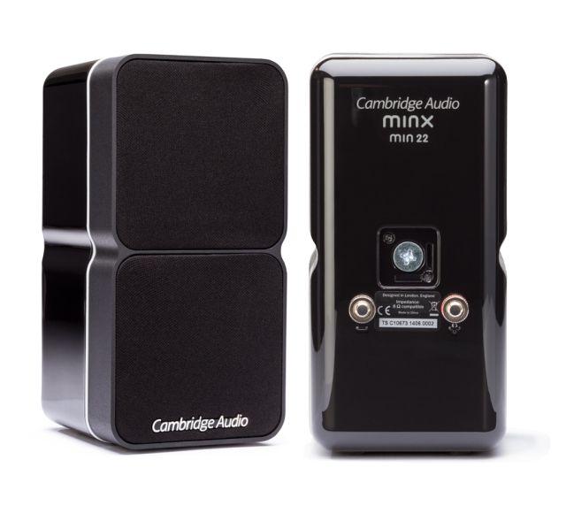 Cambridge Audio - Paire d'Enceintes satellites avec technologie BMR