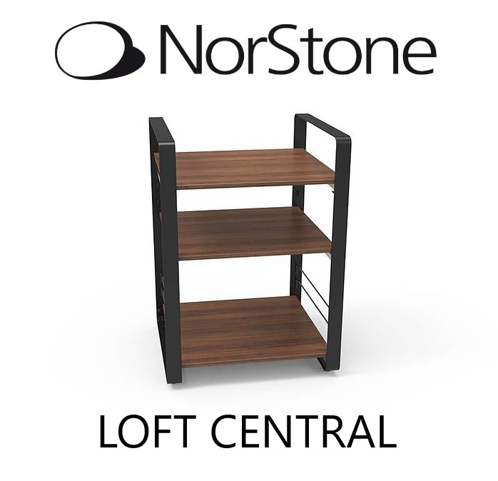 NorStone - Meuble audio LOFT CENTRAL style Noyer