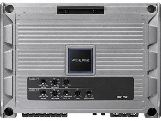 ALPINE - Amplificateur 4 Canaux PDRF50