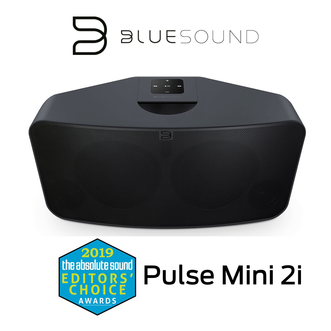 Bluesound - Haut-parleur multipièce sans fil Bluetooth Pulse Mini 2i