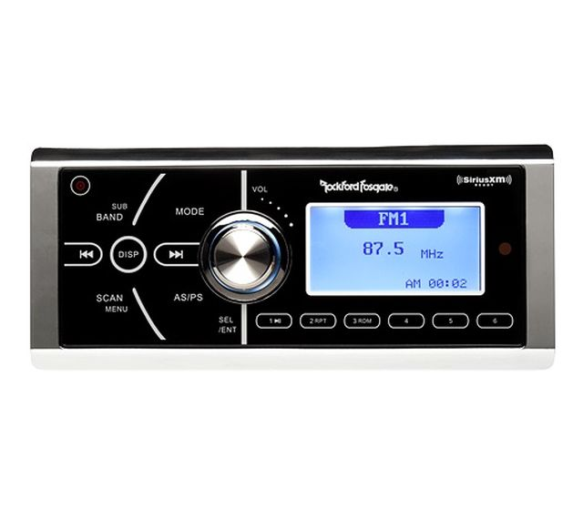 RockFord Fosgate - Radio simple Din Marine