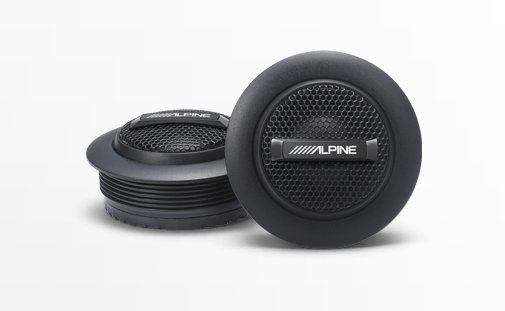 ALPINE - Ensemble de tweeter SPS110TW