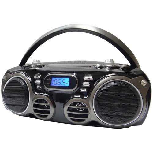 Sylvania - Boombox portatif CD Bluetooth