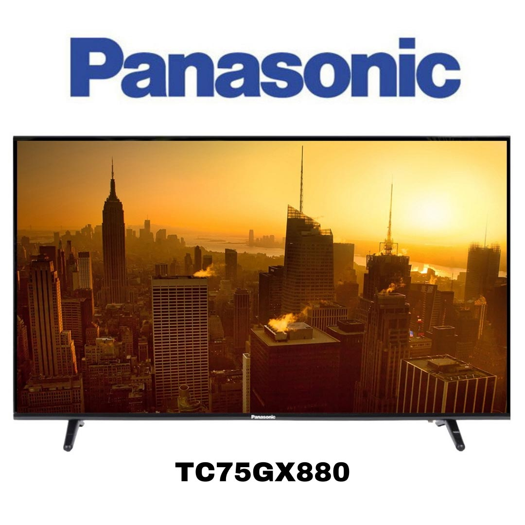 Téléviseur Intelligent Panasonic 4K Ultra HD TC75GX880 de 75po