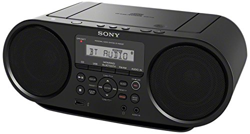 Sony - Radio cassette à lecteur CD ZS-RS60BT