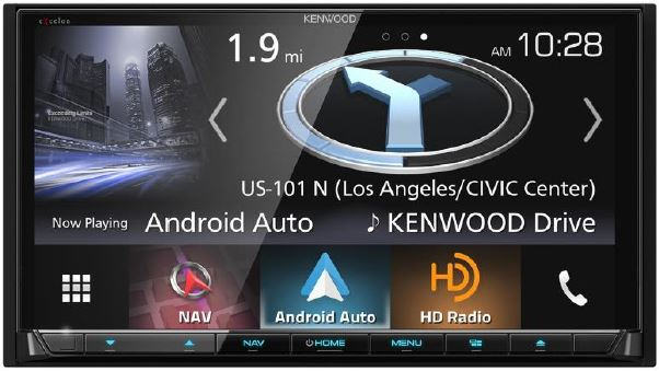 KENWOOD - Radio navigation Excelon multimédia double DIN Bluetooth Radio HD - DNX994S